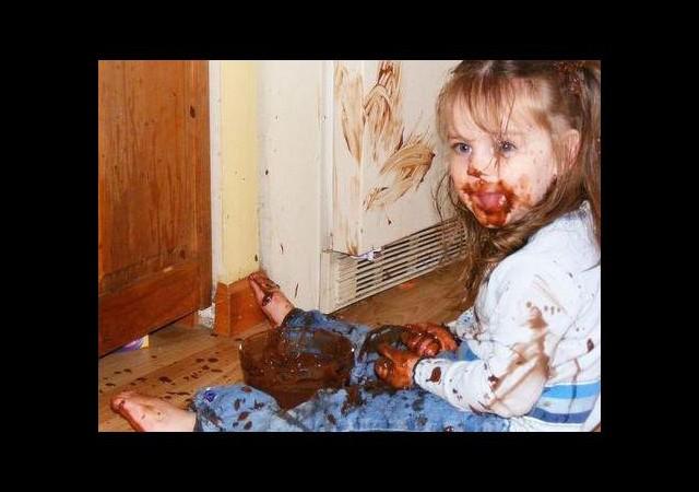 Çikolata lekesi nasıl çıkar ?