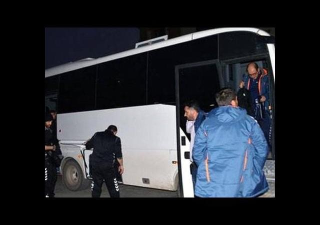 Konyaspor, Cizre'de zırhlı araçla korundu