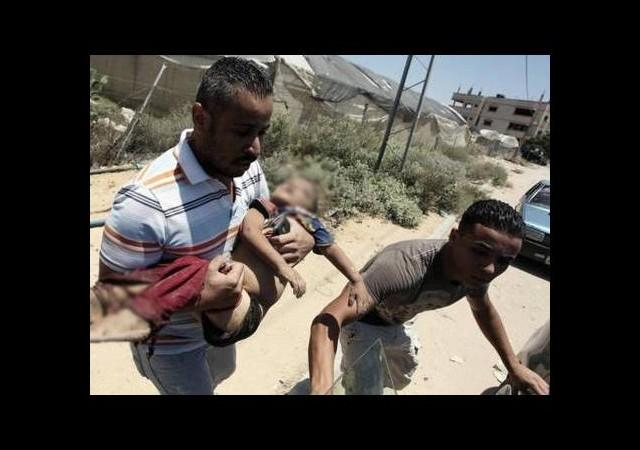 İsrail'den Gazze'ye füze saldırısı!