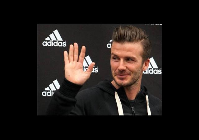 'Bonjour!' David Beckham Fransız Hayranlarıyla Buluştu