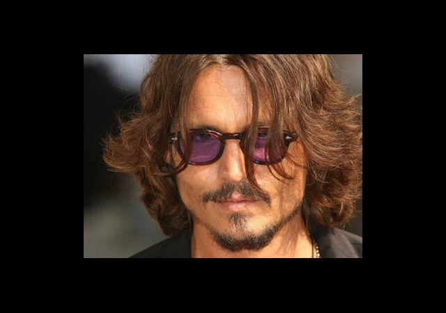 Johnny Depp Kızılderili Oldu