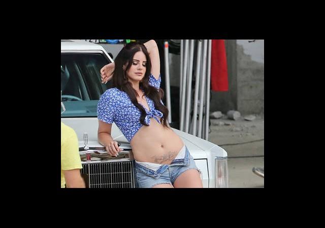 Lana Del Rey'den Seksi Klip