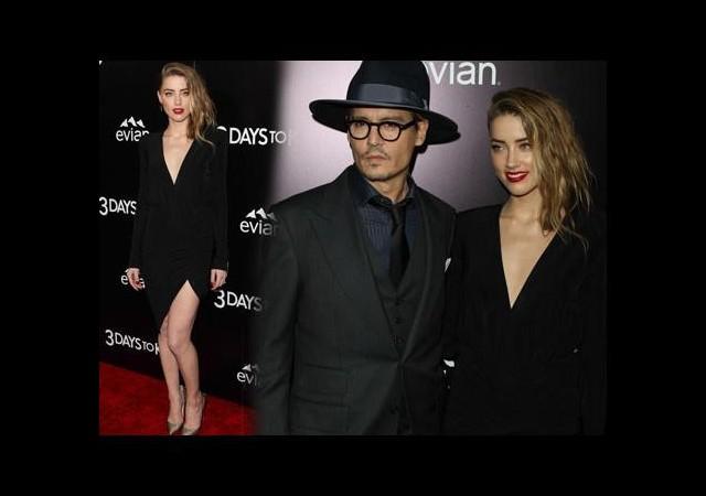 Johnny Depp sevgilisini yalnız bırakmadı