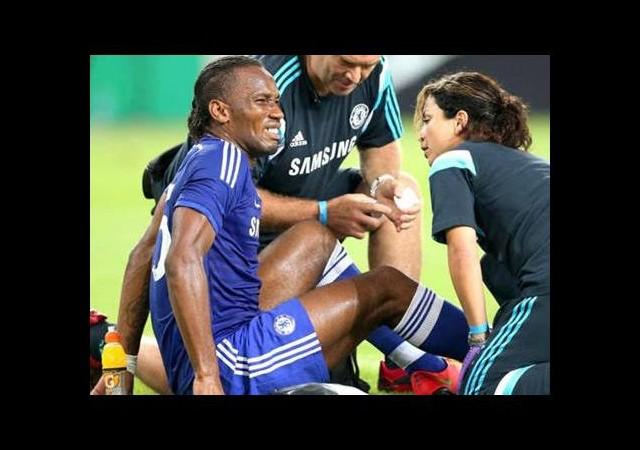 Didier Drogba kötü başladı!