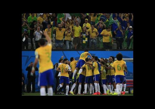 2014 Dünya Kupası'nın ilk golü Brezilya'dan