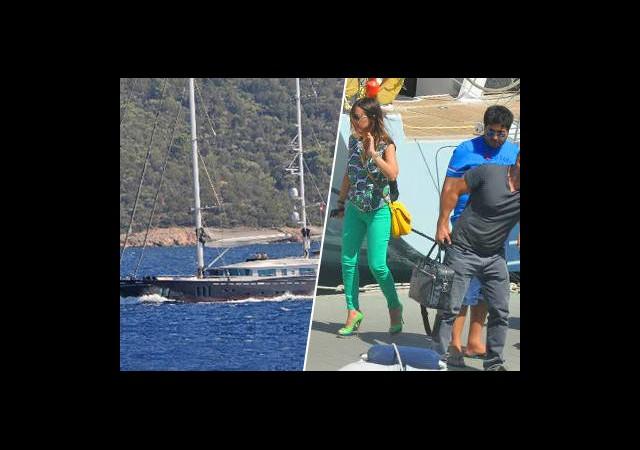 İşte Ebru ve Reza Çiftinin 7 Milyon Euro'luk Teknesi!