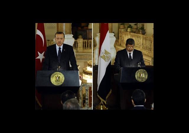 Erdoğan ve Mursi İsrail'i Uyardı