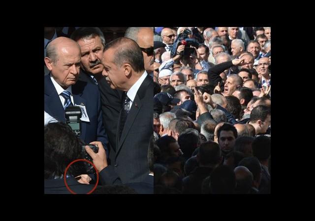 Erdoğan ile Bahçeli Tokalaşmadı!