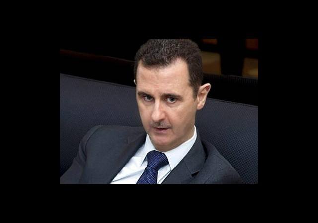 Esad: 'Bölgenin istikrarı, Suriye'ye Bağlı'