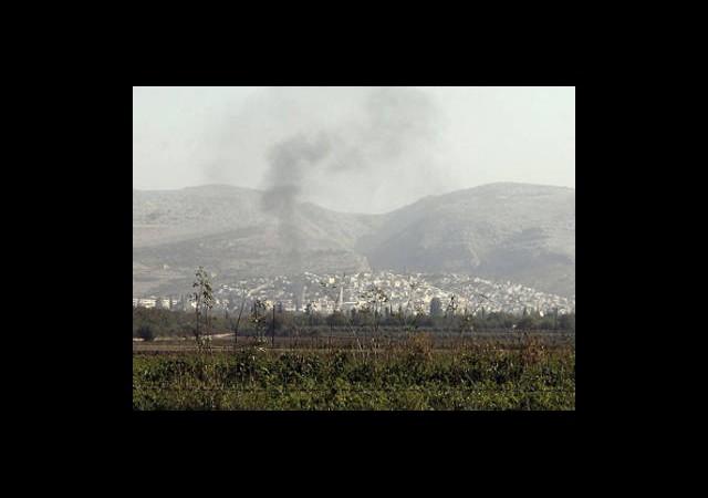 Esed Rejimi, Kaysun Dağına Hapsedildi