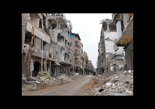 Esed güçleri Suriye'yi kana buladı