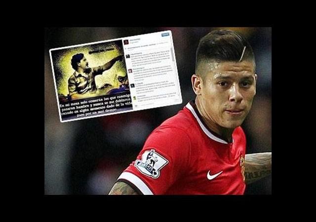 Manchester United'lı Rojo'dan büyük skandal! Uyuşturcu...