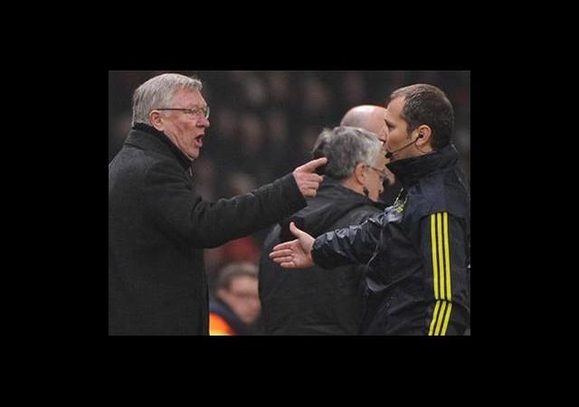 Alex Ferguson'dan Cüneyt Çakır Yorumu