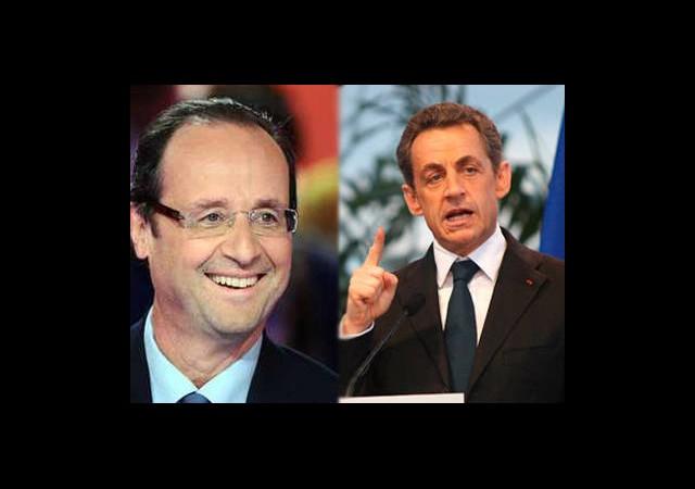 Sarkozy Ve Hollande 6 Mayıs'ta Kapışacak