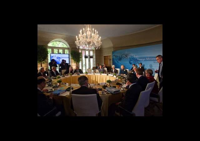 G8 Ülkeleri Suriye'deki Olaylardan Rahatsız