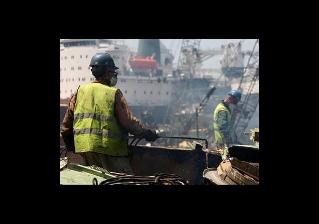 Gemilerden 266 Bin Ton Hurda Çıktı