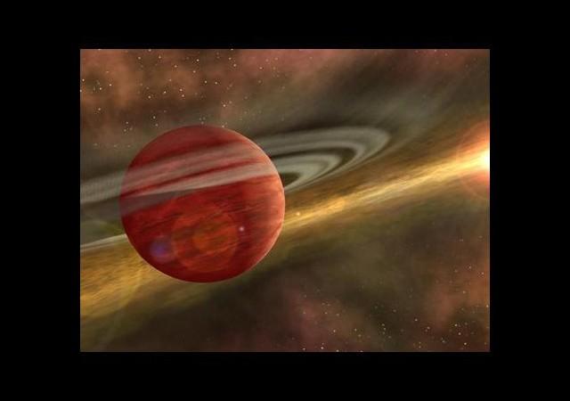 Dev Bir Gezegen Keşfedildi!