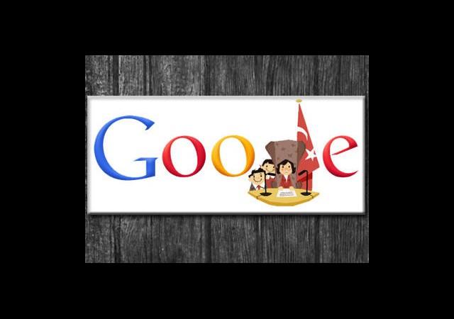 Google'ın 23 Nisan Doodle'ı
