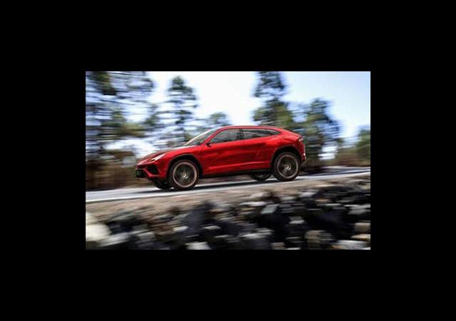 Lamborghini'nin Jeep Modelinin Resimleri İnternete Sızdı...