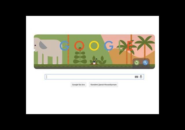 Google İlk Paraşütle Atlayışı Doodle'la Andı