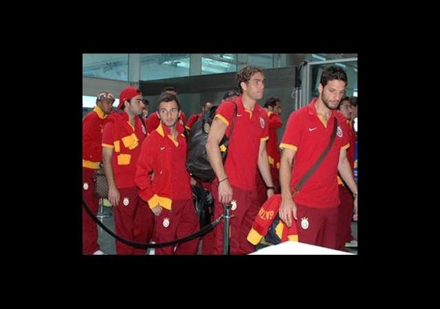 Galatasaray Londra'ya Gitti