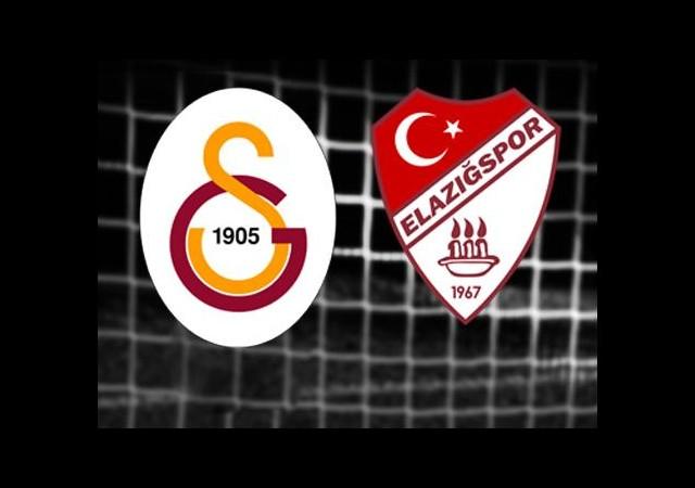 Galatasaray-Elazığspor (Canlı Anlatım)
