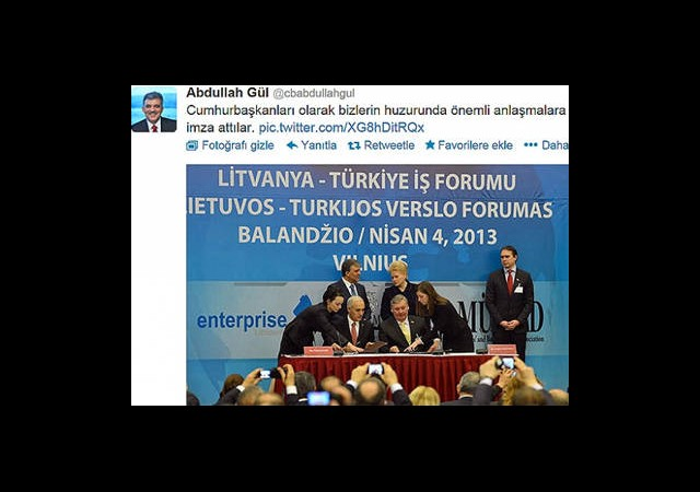 Letonya ve Litvanya Gezileri Twitter'da