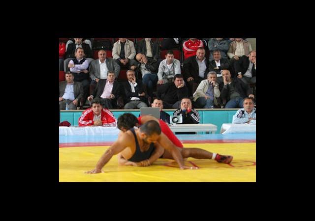 Güreşte Olimpiyat Heyecanı