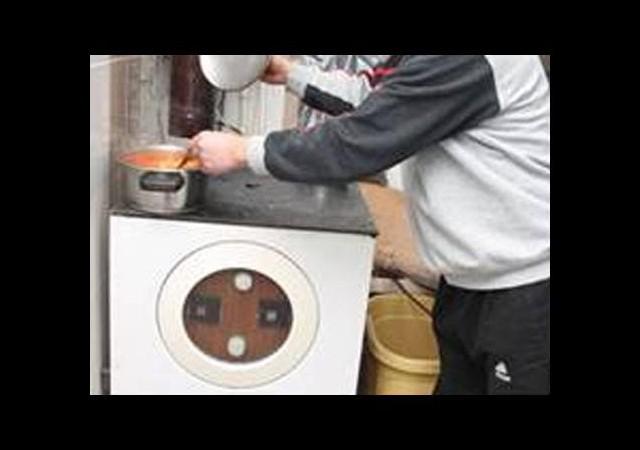 Evini çamaşır makinesiyle ısıtıyor!