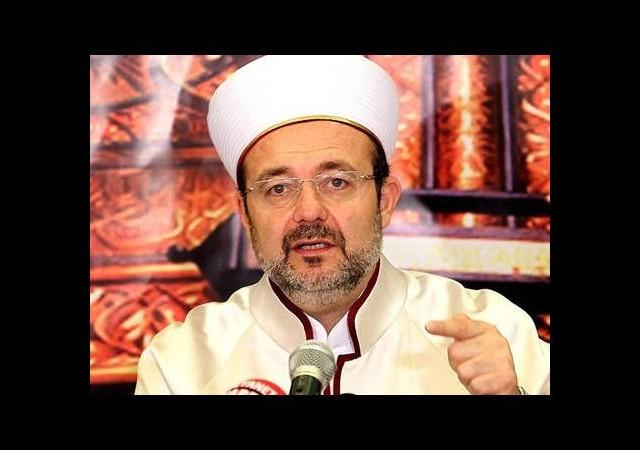 Görmez'den Yezidiler için İslam alemine çağrı