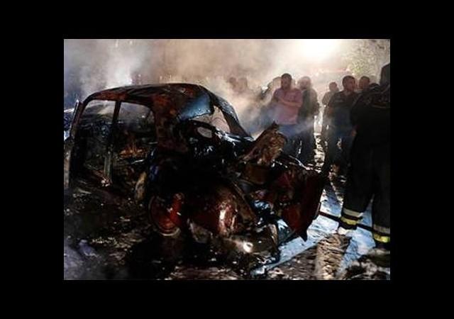 Şii mahallesinde bomba patladı