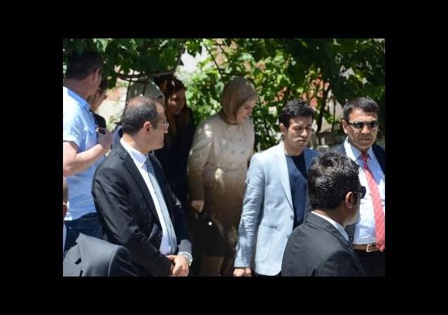 Emine Erdoğan Soma'da