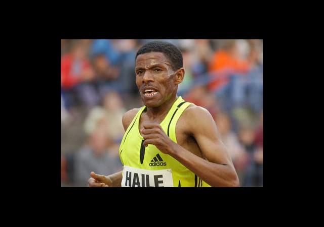 Etiyopyalı Atlet Gebrselassie Londra'da Yok