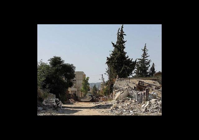Halep Kırsalı Harabeye Döndü