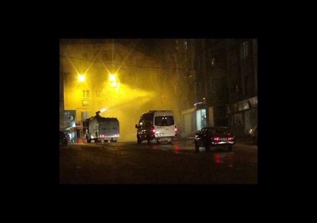 Hatay'daki İzinsiz Yürüyüşe Polis Müdahalesi