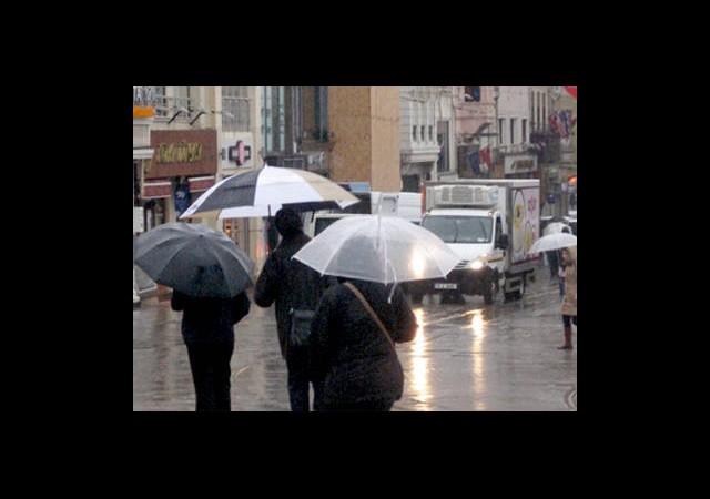 Sağanak Yağış Bizi Bırakmıyor