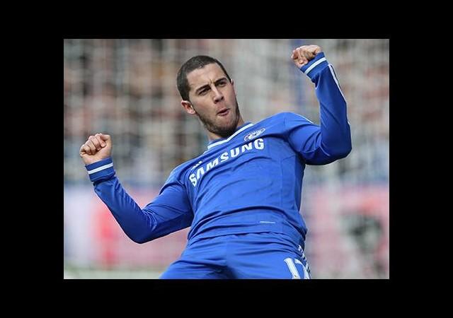 Hazard Chelsea'yi zirveye taşıdı