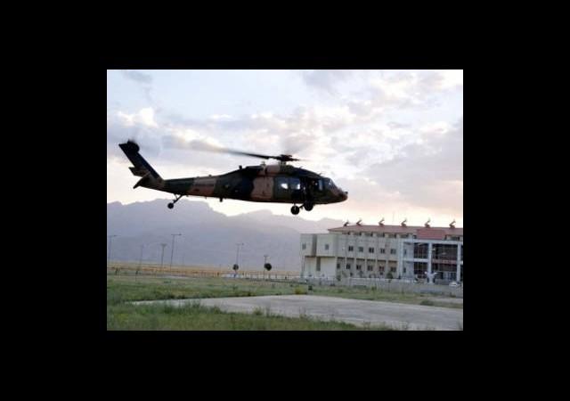 Düşen Helikopteri PKK Mı Düşürdü?