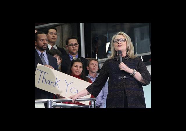 Clinton'dan Duygusal Veda