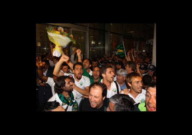 Konvoyla Süper Lig Kutlaması