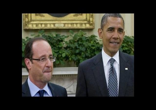 Hollande, Obama ile görüştü