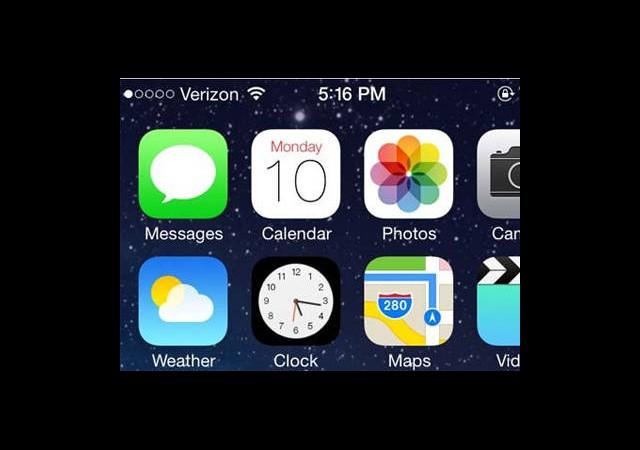 iOS 7'deki İnce Detay Saat İkonunda Saklı