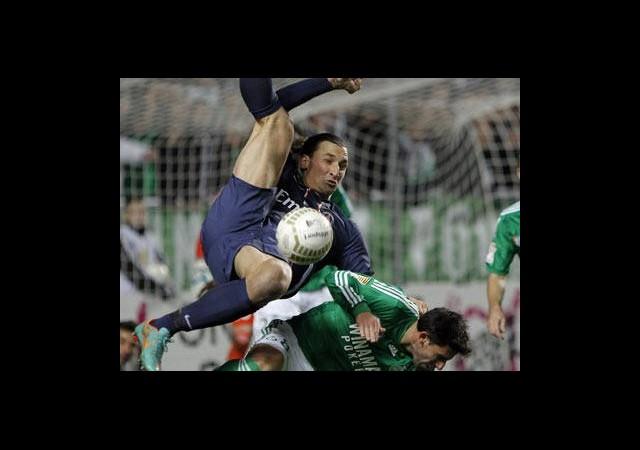 İbrahimovic PSG'yi Kurataramadı