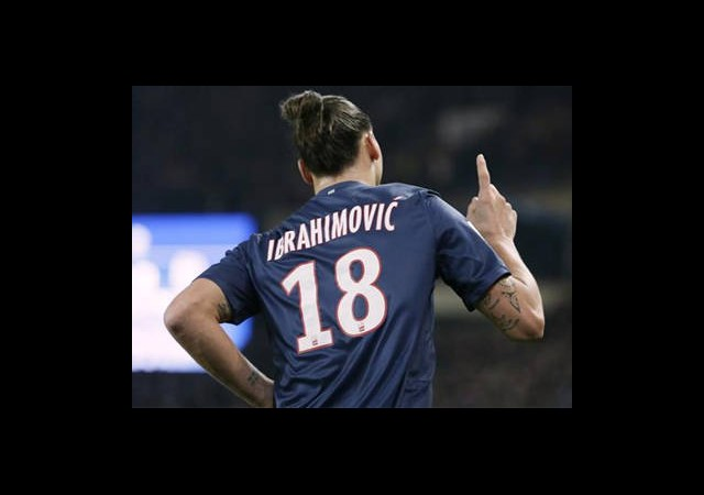 Ibrahimovic'ten 200. Gol!