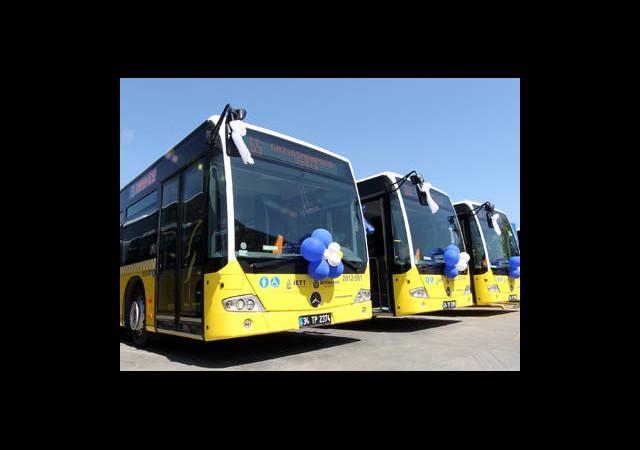 İstanbul'a 350 Yeni Otobüs