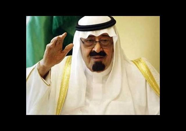 Namazda Kral Abdullah'ı öven imam canını zor kurtardı!
