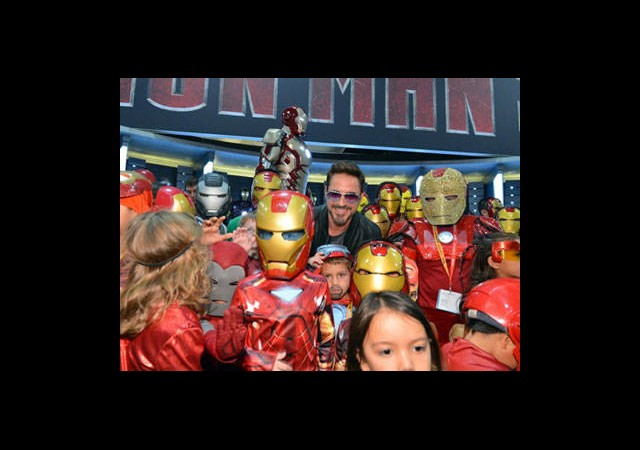 Comic Con 2012'den Iron Man Geçti!