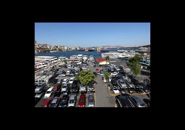Karaköy İSPARK'ta Dehşet