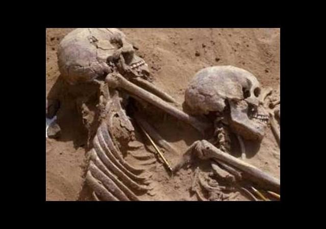 13 bin yıllık sırrı çözen iskelet