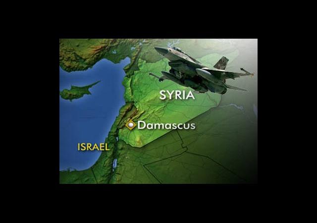 İsrail Suriye'yi Bu Kez 'Doğrudan' Vurdu